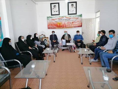 کبودراهنگ  دیدار با امام جمعه شهرستان
