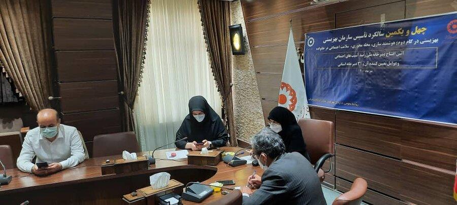 گزارش تصویری/  آئین افتتاح دبیرخانه ملی رصد آسیب های اجتماعی