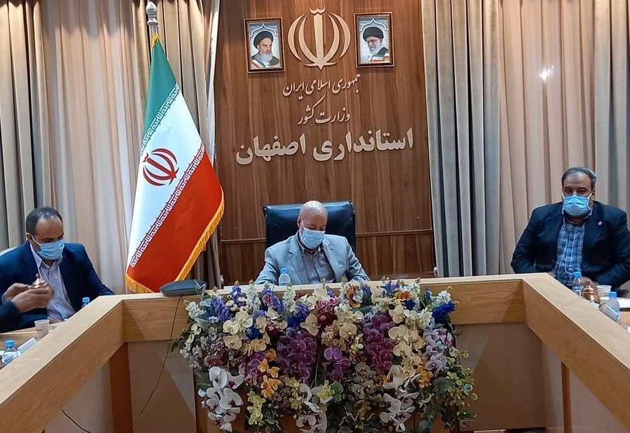 گزارش تصویری| دیدار مدیرکل، اعضای شورای معاونین بهزیستی و مشاوران مدیرکل در امور معلولین با استاندار اصفهان