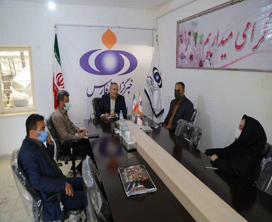 گزارش تصویری/حضور مدیر کل بهزیستی کردستان در خبرگزاری فارس