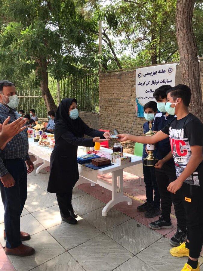 شمیرانات| برگزاری مسابقه ورزشی فرزندان در مرکز شبانه روزی لواسانات
