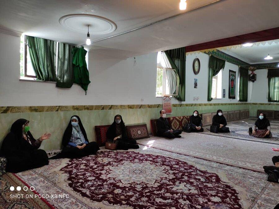 بهار | بازدید مدیر کل دفتر امور بانوان استانداری همدان از مراکز مثبت زندگی