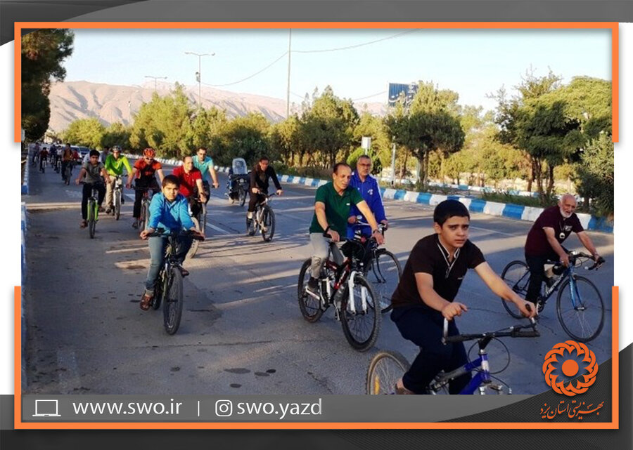 تفت   برگزاری همایش دوچرخه سواری به میزبانی بهزیستی تفت
