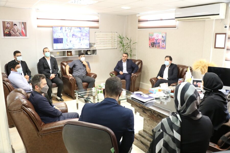 نشست صمیمی مدیران کل بهزیستی و ورزش و جوانان استان گیلان با ورزشکاران پارالمپیکی
