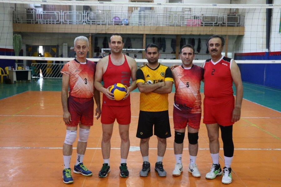 برگزاری مسابقات والیبال کارکنان بهزیستی گیلان