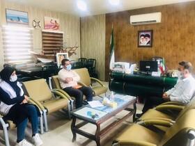 دیر|دیدار رئیس بهزیستی در خصوص اشتغال زایی جامع هدف در واحد های تابعه اداره شیلات