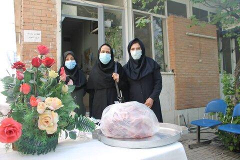 بازدید معاون مشارکت های مردمی از روند جمع آوری نذورات عید قربان