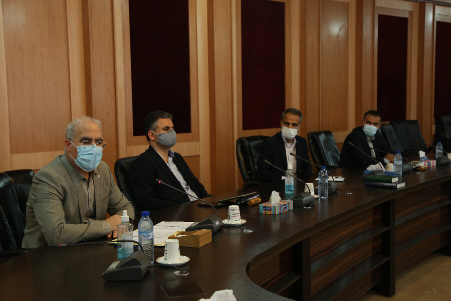 گزارش تصویری دیدار با استاندار بوشهر