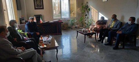 فیروزکوه دیدار فرماندار از ستاد بهزیستی شهرستان