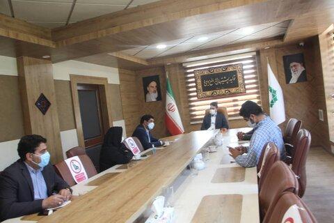 شهریار| نشست صمیمی رئیس بهزیستی با شهردار باغستان