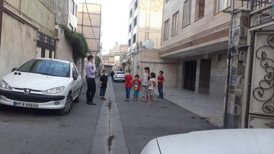 شهرقدس| ادامه خدمات سیار اورژانس اجتماعی شهرستان