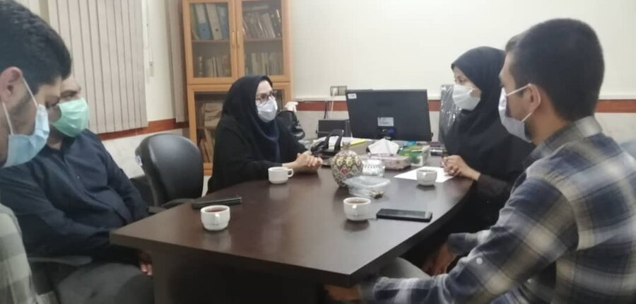 حضور خبرنگاران ورامینی در اورژانس اجتماعی