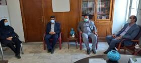 گزارش تصویری/ دیدار شهردار و اعضای شورای  اسلامی شهر با ریاست اداره بهزیستی شهرستان اهر