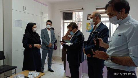 گزارش تصویری/ برگزاری میز خدمت توسط اداره بهزیستی شهرستان کلیبر در نماز جمعه