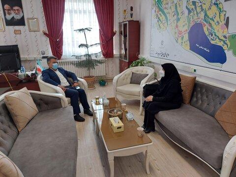 گزارش تصویری/ نشست هماهنگی و بررسی تکمیل و تحویل اورژانس اجتماعی اسکو