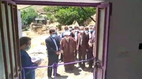 افتتاح مسکن مددجویی در روستای ایلانکش بهزیستی کلیبر