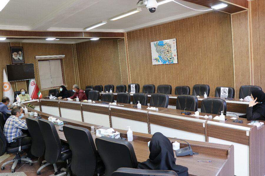 برگزاری سومین جلسه شورای اقامه نماز اداره کل بهزیستی آذربایجان غربی