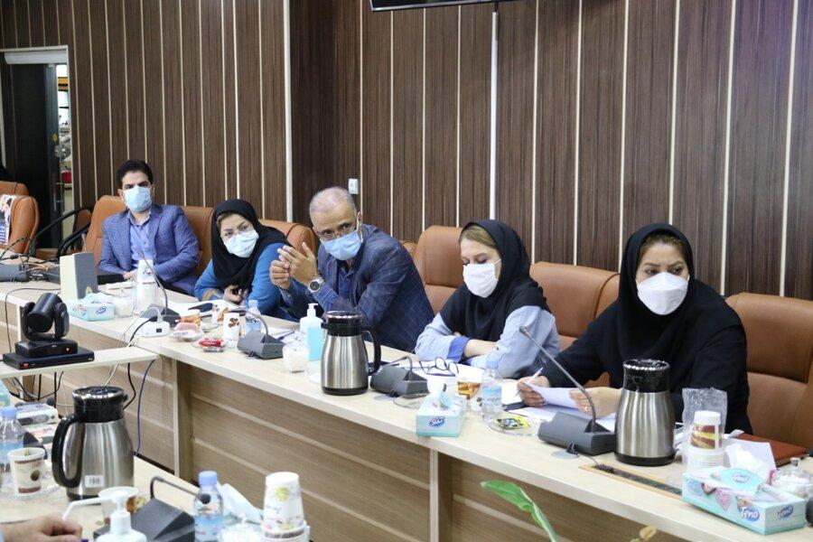 برگزاری کارگروه عملیاتی مراکز مثبت زندگی بهزیستی استان گیلان