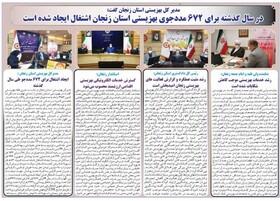 بهزیستی استان زنجان دررسانه
