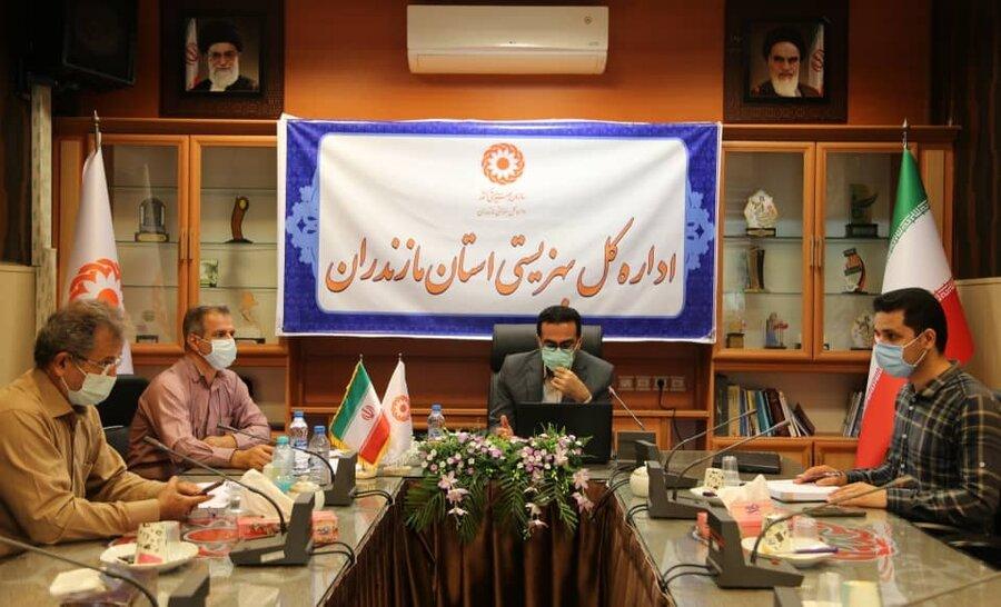 برگزاری جلسه آموزشی مراکز اقامتی میان مدت در بهزیستی مازندران