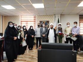 گزارش تصویری | تجلیل از کارکنان سادات بهزیستی استان البرز و بانوان شاغل محجبه به مناسبت عیدسعید غدیرخم