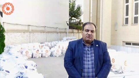فیلم  ارسال ۶۰ عدد تانکر آب به استان سیستان و بلوچستان