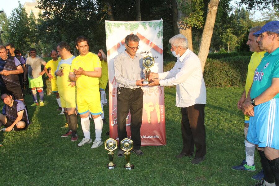 اردبیل - برگزاری مینی فوتبال