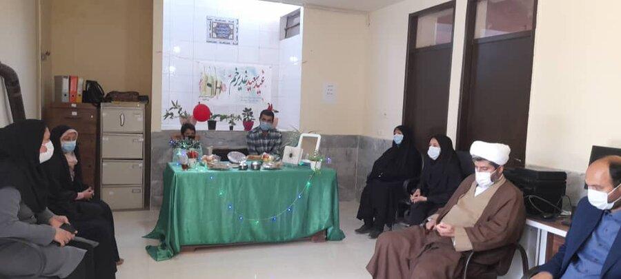 مراسم جشن غدیرخم در شهرستان راز و جرگلان برگزار شد.