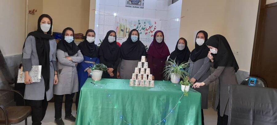 برگزاری مراسم جشن غدیرخم در شهرستان راز و جرگلان