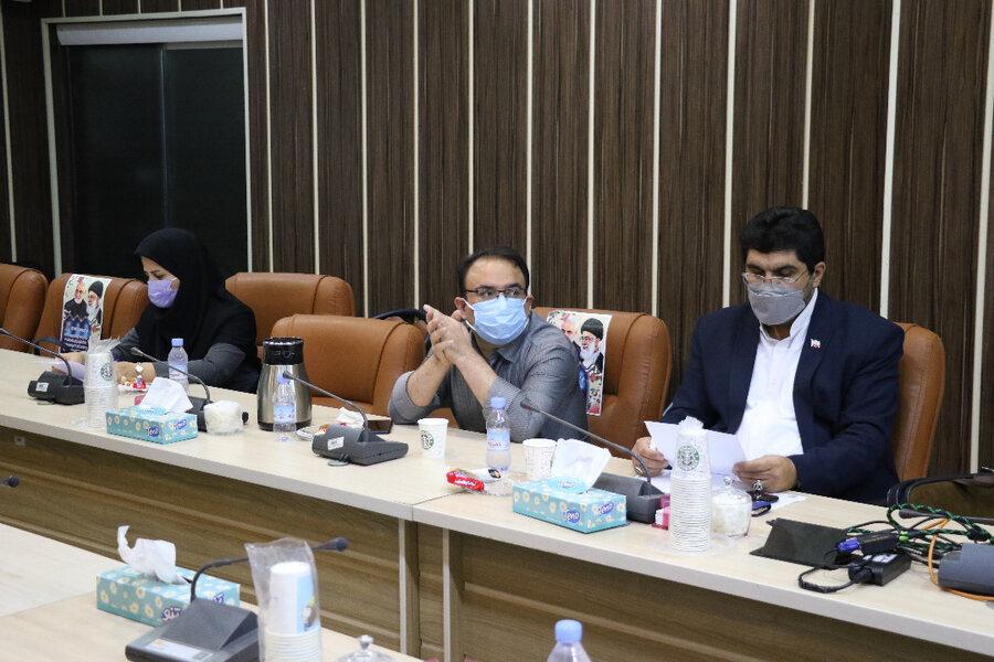 برگزاری سومین نشست کمیته تخصصی ماده ۱۶ در بهزیستی گیلان