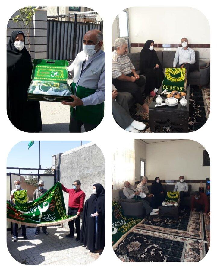 اشتهارد | دیدار با خانواده سادات تحت پوشش بهزیستی شهرستان اشتهارد