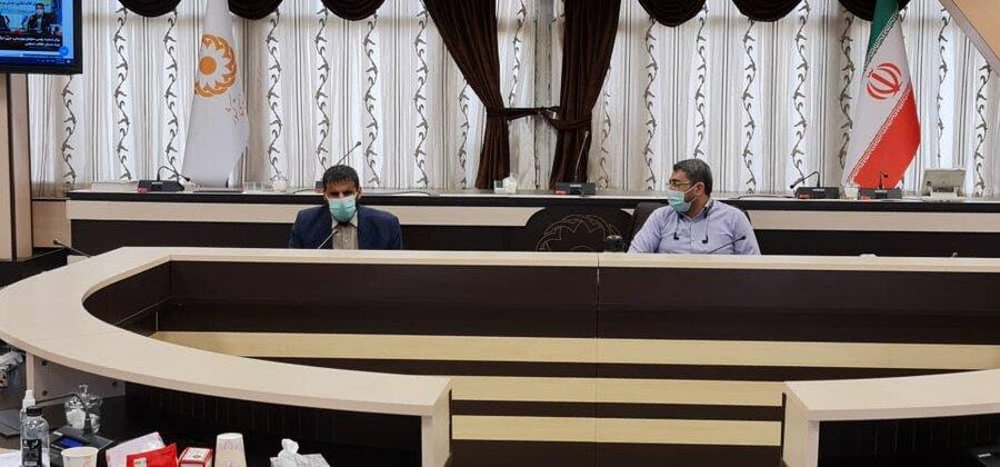 تقدیر مدیرعامل جامعه نابینایان و کمبینایان استان مازندران از مدیران سازمان بهزیستی کشور