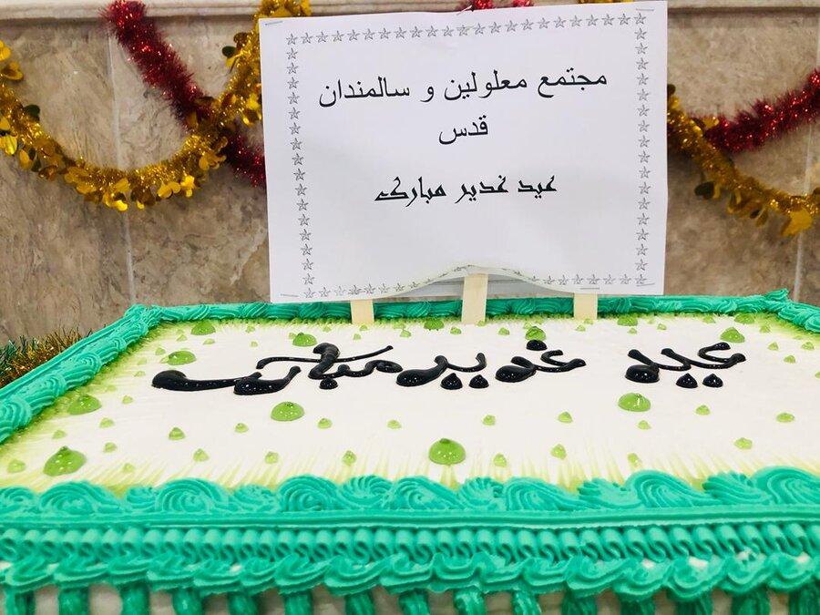 شهرقدس  برگزاری مراسم جشن به مناسبت عید غدیر