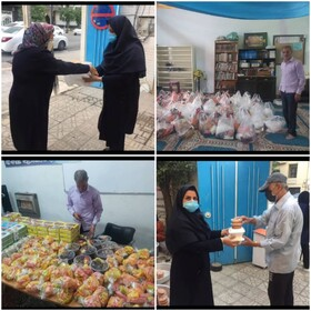شیراز  توزیع بسته های معیشتی