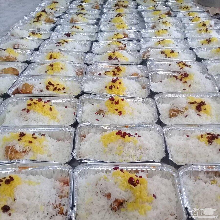 توزیع دو هزار پرس غذای گرم بین مددجویان