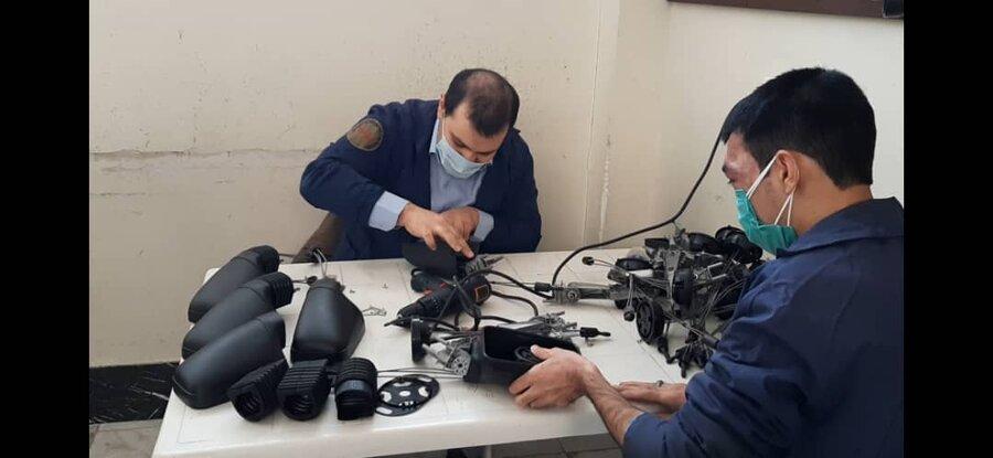 اسلامشهر| ارائه گزارش مرکز جامع توانبخشی شهدای شلمچه