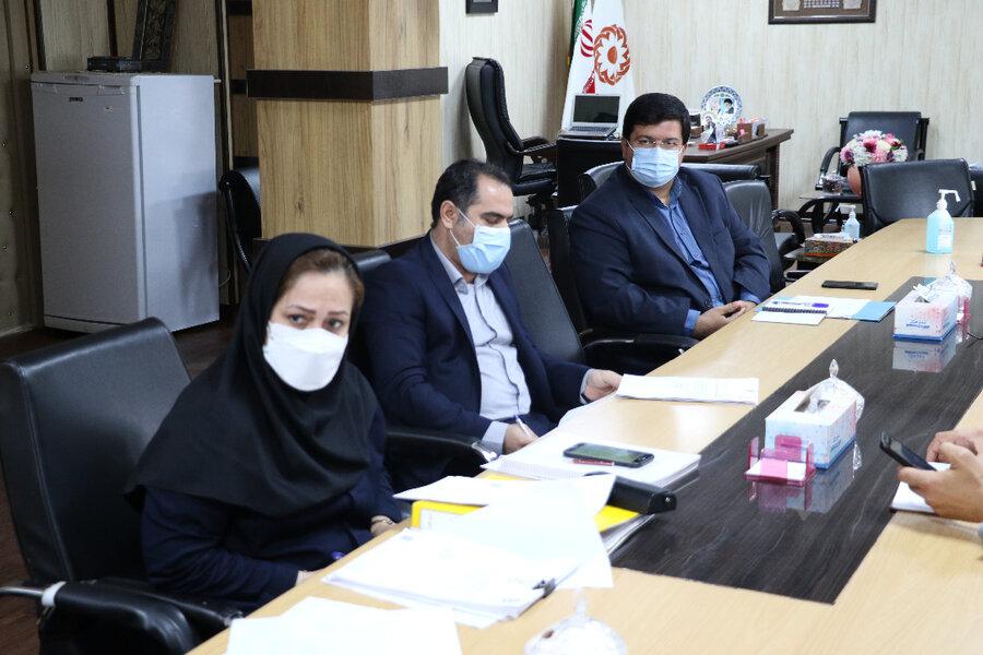 برگزاری نشست کمیسیون ماده ۲۶ بهزیستی گیلان