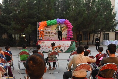 به مناسبت عید سعید غدیر خممراسم جشن ویژه کودکان کار و خیابان برگزار شد