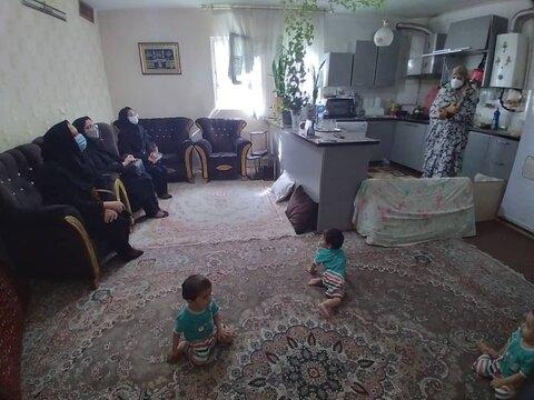 گزارش تصویری | دیدار با خانواده های چند قلو