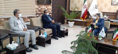 گزارش تصویری  سفر یکروزه مدیر کل و هیات همراه به شهرستان زرینشهر
