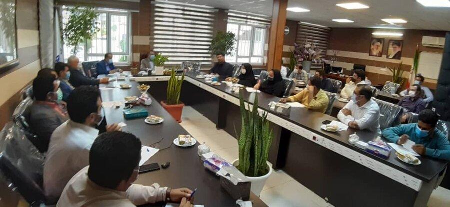 شهریار| جلسه هماهنگی و پیگیری C.B.R برگزار شد