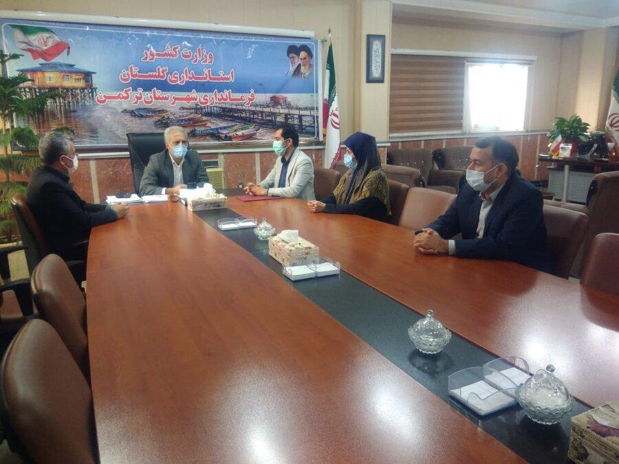 سرپرست بهزیستی شهرستان ترکمن منصوب شد
