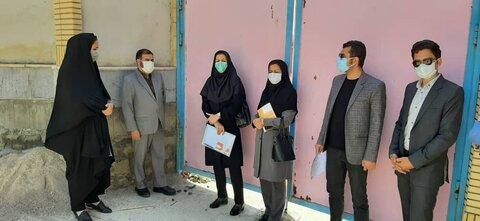 بازدید از روند پروژه های مدارس در حال احداثدر خراسان شمالی
