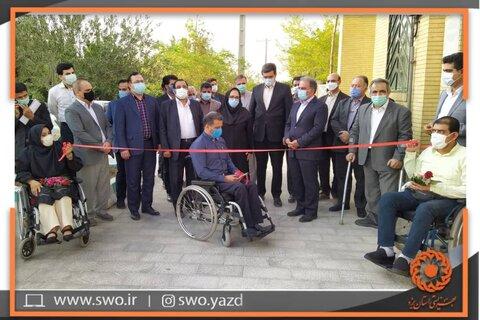 آیین افتتاح پروژه سیمرغ مبنی بر مناسب سازی 30 کیلومتر از معابر شهر یزد