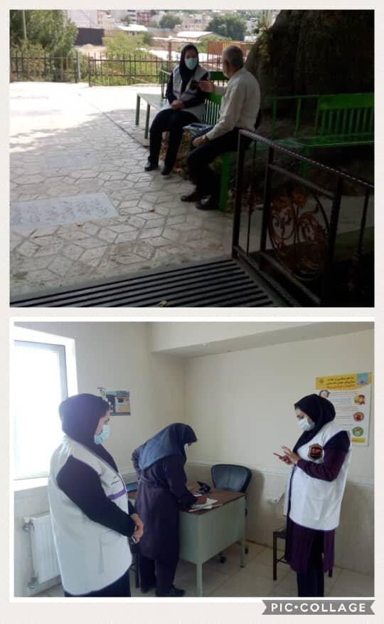سپیدان| اعزام تیم خدمات سیار اورژانس اجتماعی در شهر اردکان