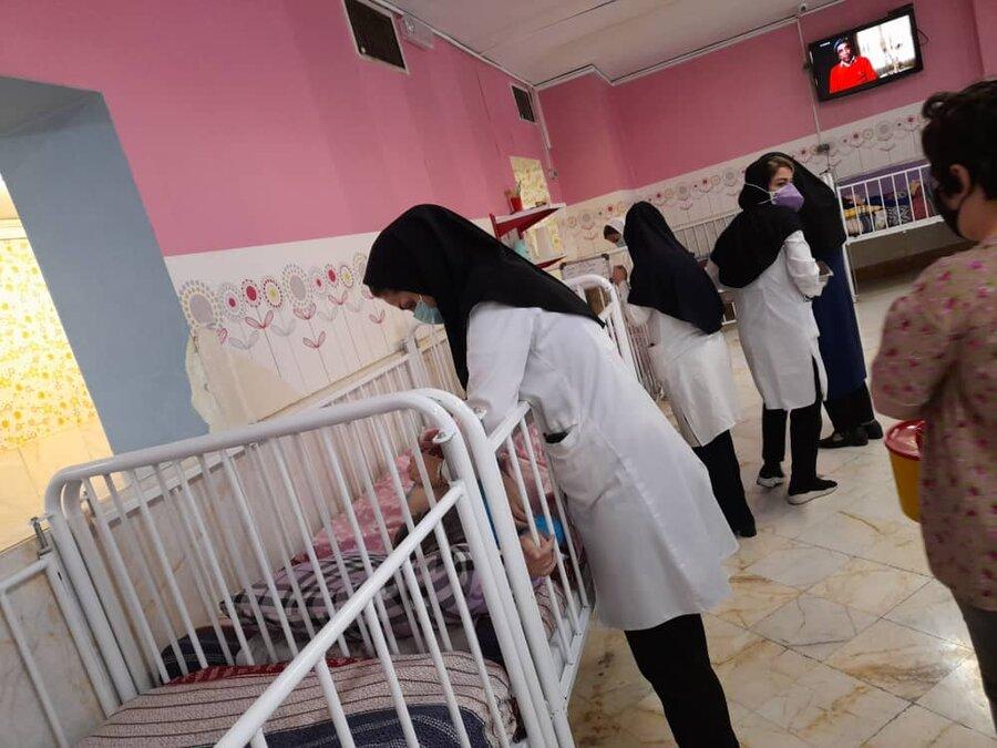 شمیرانات | مرحله اول واکسن سینوفارم در مرکز توانبخشی امام علی تزریق شد