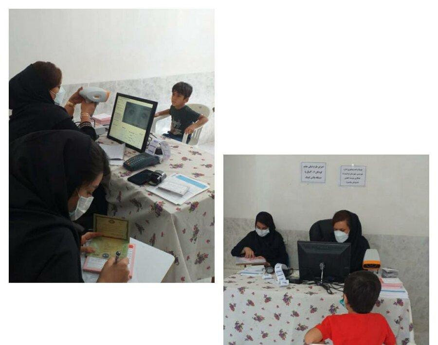 فراشبند| آغاز طرح پیشگیری از تنبلی چشم کودکان