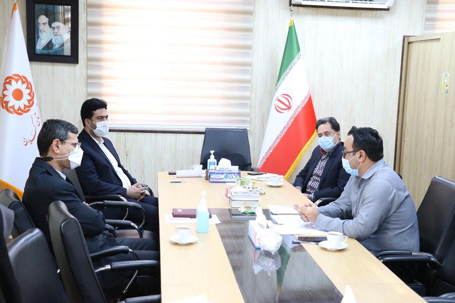 نشست بررسی وضعیت پروژه مسکن مهر شهرستان لنگرود