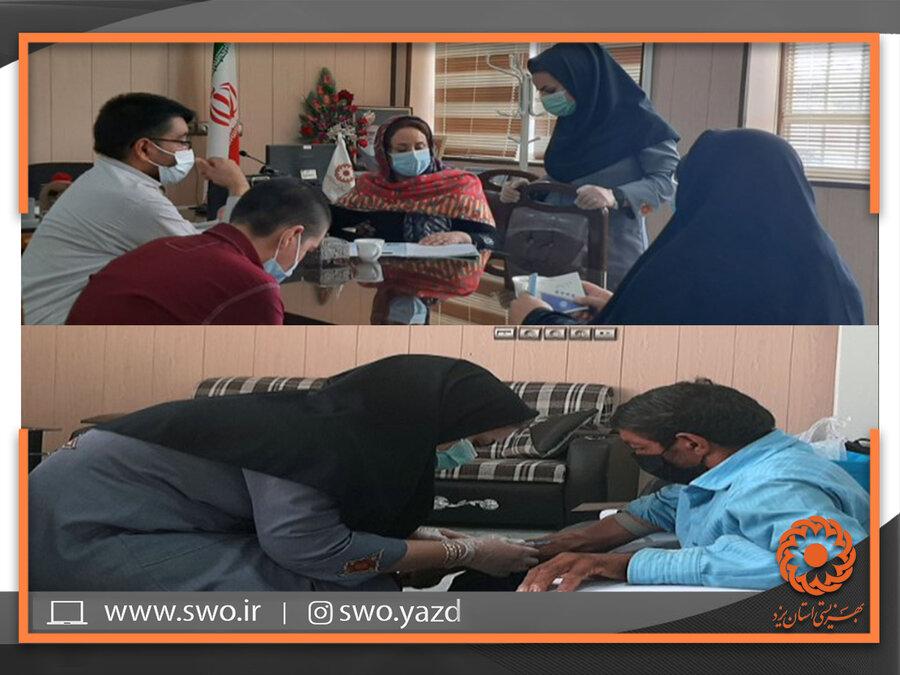 بهاباد | طرح غربالگری ژنتیک ویژه خانوارهای دارای حداقل دو عضو معلول بهاباد انجام شد