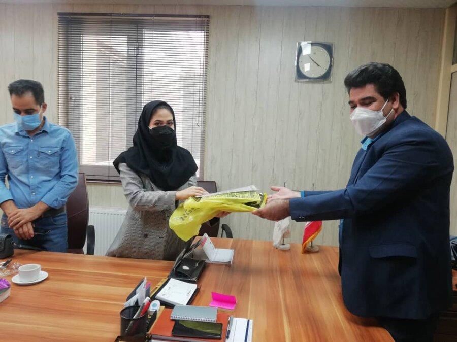 شهریار| تقدیر از خبرنگاران همراه بهزیستی